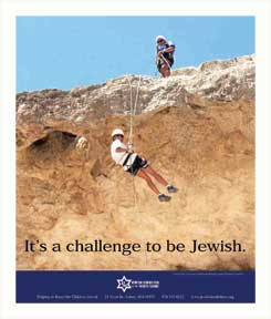 It's a challenge to be Jewish