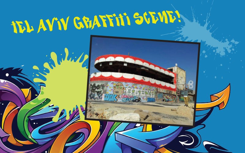 Teen Tour of Tel Aviv's Graffiti Scene!