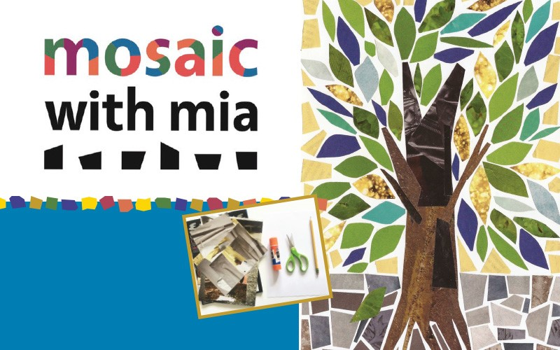 Paper Mosaic Workshop for Students ages 8-12