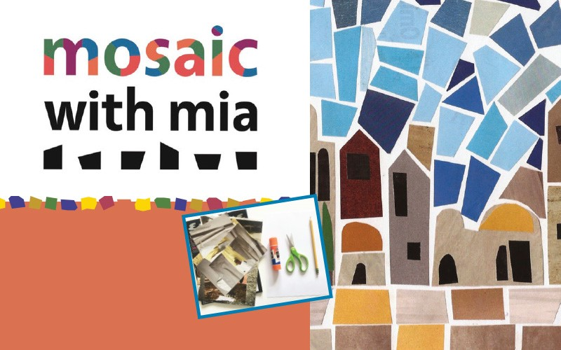 Paper Mosaic Workshop for Adults & Teens
