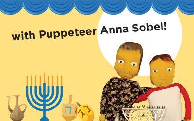 PJ Library Hanukkah Harry Puppet Show
