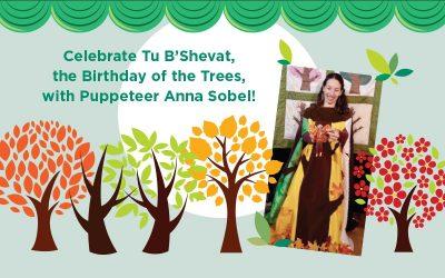 PJ Library Tu B'Shevat Puppet Show
