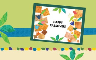 Mosaic with Mia: Create a Spring and Passover-themed Card