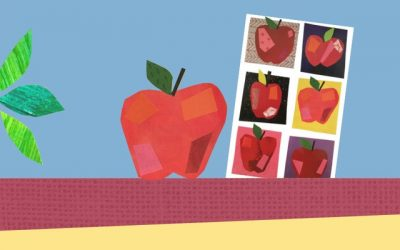 Mosaic with Mia: Create a Rosh Hashanah-themed Card or Picture