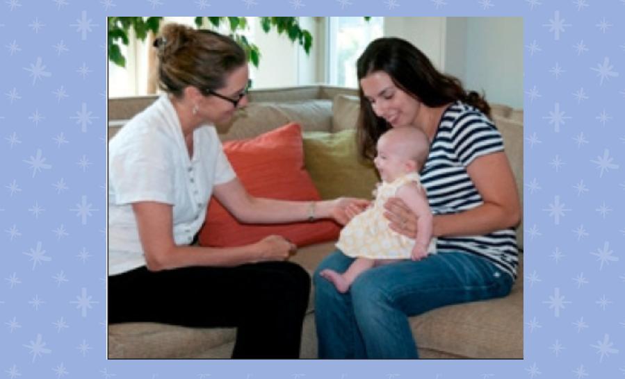 Lauren & Mark Rubin Visiting Moms