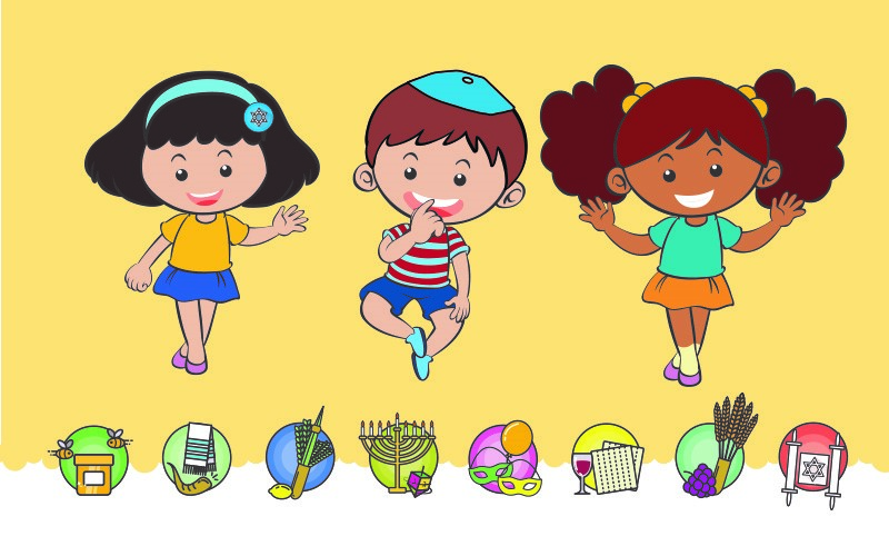 PJ Library Jewish Holidays for Little Hands